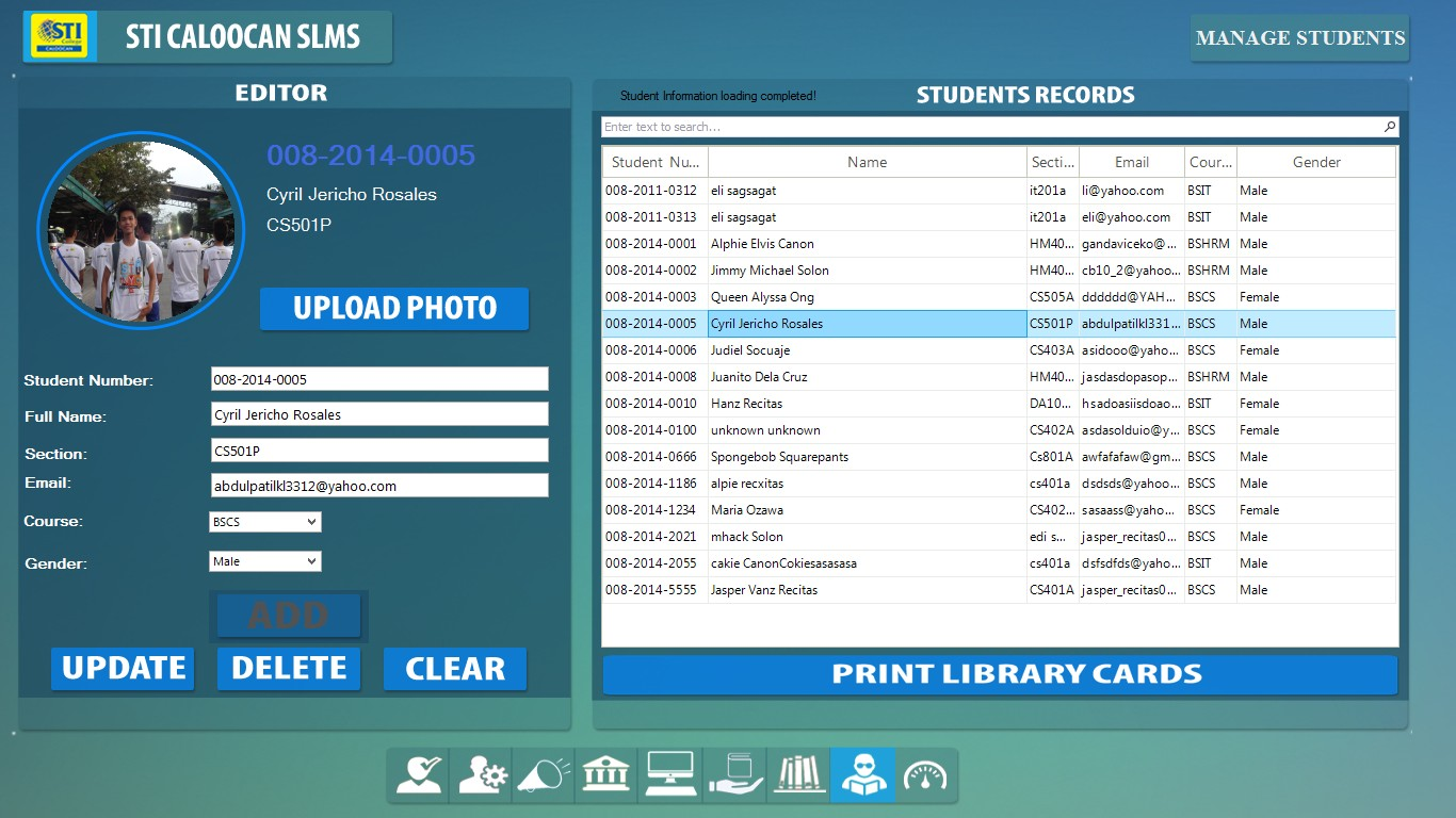 Smart Library Management System - A very Smart and Integrated
