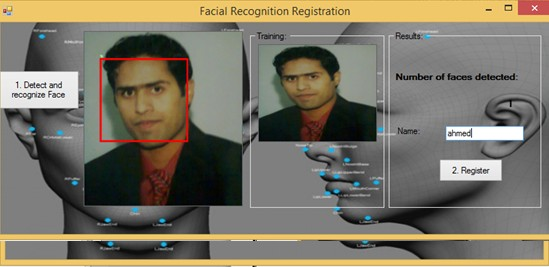 Face Recognition attendance System - Register yours self to a system
