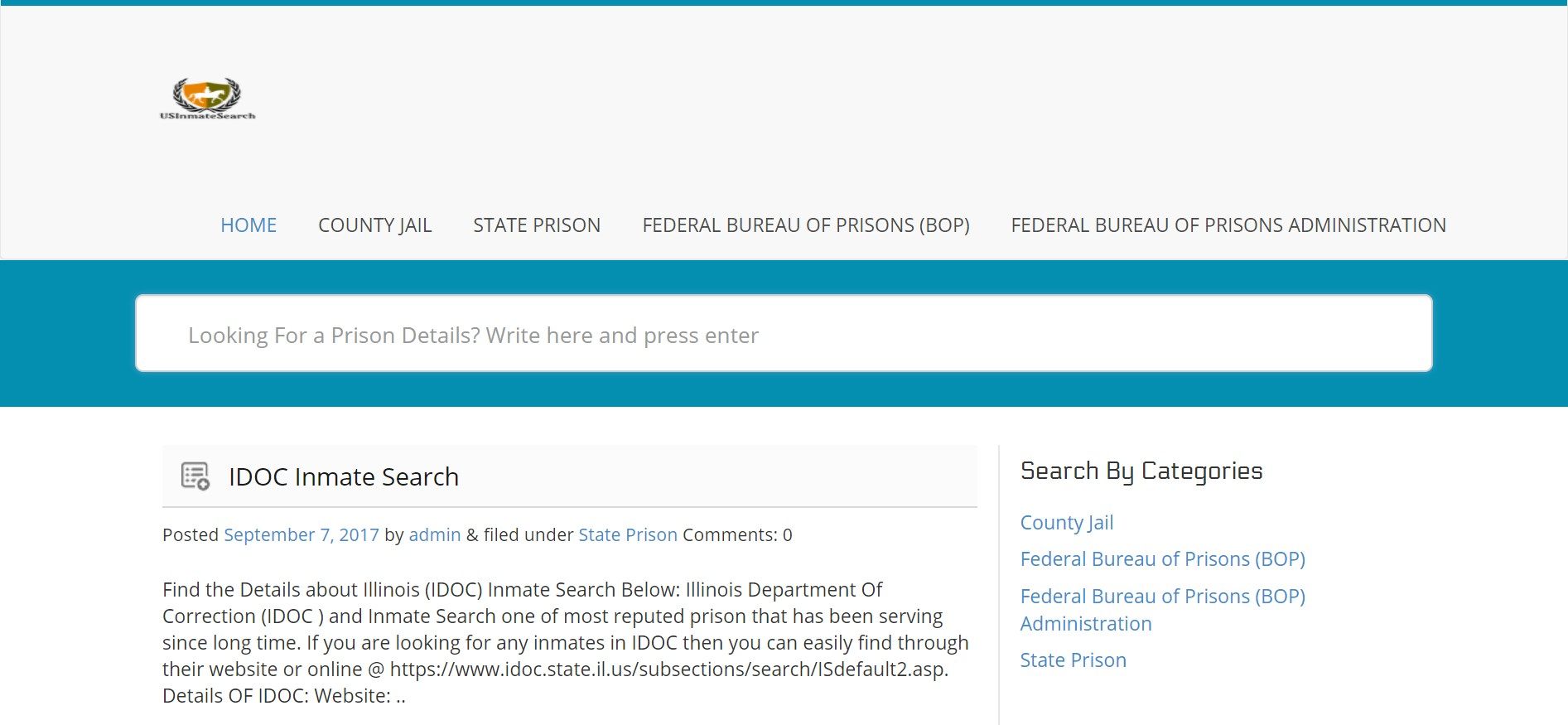 Nationwide Inmate Search and Federal Inmate Locator - Nationwide